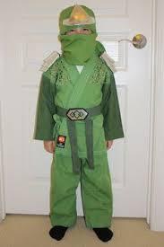 Ninjago Halloween Costume Joey 6 Wanted Green Ninja Halloween