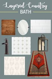 stone cottage bathroom design plans thewhitebuffalostylingco com the plan is to do colored shiplap 3 4 of the way up the wall and i immediately pictured it in a similar blue gray to the fireplace