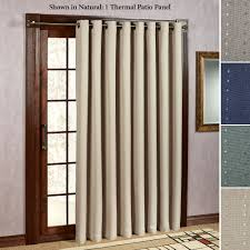 Door Panel Curtains Grand Pointe Room Darkening Thermal Grommet Patio Panel