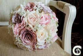 silk wedding bouquets silk wedding bouquets laurel weddings