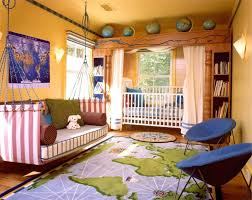 toddler boy bedroom ideas ikea oval mirror on the soft brown wall
