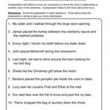 prepositions worksheets have fun teaching