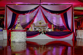 wedding backdrop drapes purple fuchsia white wedding reception backdrop drapes lighting