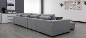 ensemble canapé fauteuil canapé d angle en tissu gris a prix usine