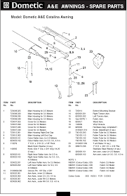 Rv Replacement Awning Fabric Dometic Rv Awning Parts Diagram A A A A U0026e Rv Awning Replacement