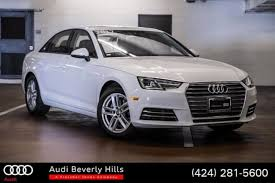 certified used 2017 audi a4 for sale in the beverly hills ca area