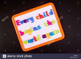 education quotes henry david thoreau every child begins the world again