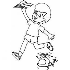 paper airplane coloring page boy with paper airplane coloring page coloring pages boys just