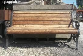 panchine prezzi gallery of panchine in ferro e legno in vendita il giaggiolo
