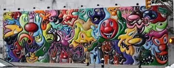 modern mural pop art wall murals com trends and mural inspirations kenny scharf