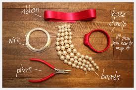 diy hand bracelet images Beaded bow bracelet diy jpg