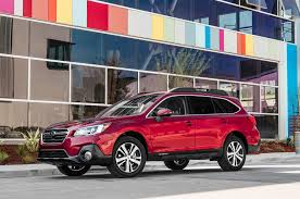 red subaru outback 2018 subaru outback 2 5i first test review safe slow and