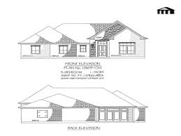 inexpensive house plans 3 bedroom modern small house plans 1400