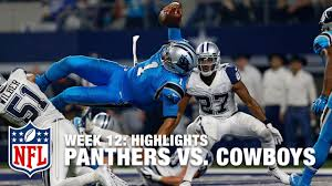 dallas cowboys thanksgiving 2015 panthers vs cowboys week 12 highlights nfl youtube