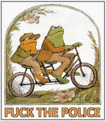Fuck The Police Meme - 22 meme internet fuck the police frogs on a bicycle