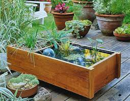 Garden Containers Ideas - useful tips on how to choose the best water garden containers