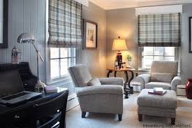 work from home interior design therpist office ideas after the fabric of the shades