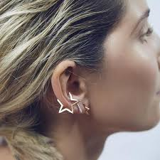 earring on ear ear piercings styles to step up your