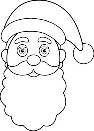 santa claus outline free download clip art free clip art