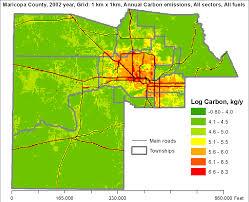 Arizona State University Map by Hestia Project
