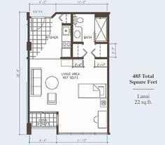 16 studio loft apartments 450 sq ft floor plans garage