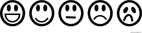 emoji list smile sad happy coloring pages printable