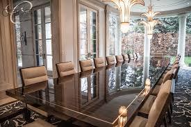 Custom Made Dining Room Furniture Custom Made Makassar Deco Style Grand Dining Table