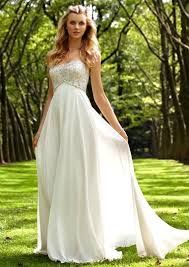 garden wedding dresses a simple model for garden wedding dresses