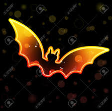 transparent halloween background orange transparent bat for halloween royalty free cliparts