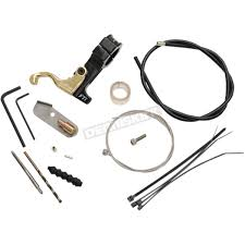 full throttle inc goldfinger left hand atv hand throttle kit