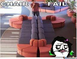 Meme Chair - chair fail by michaelpereira meme center