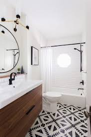 Black And White Modern Bathroom by Modern Bathroom Inspiration A Renovation Update Lovely Indeed