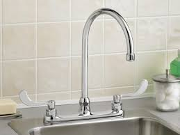 Wall Mount Faucets Kitchen Faucet Wall Mount Faucet With Sprayer Renowned Kitchen Faucet