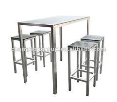 table de cuisine haute table de bar haute jardin idées de décoration capreol us