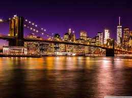brooklyn bridge walkway wallpapers brooklyn bridge at night 4k hd desktop wallpaper for u2022 dual
