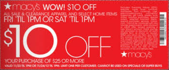 macy s black friday 2012 ad offers printable coupons for more