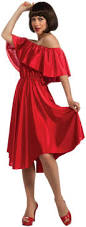 halloween stores culver city women u0027s saturday night fever red dress costume red