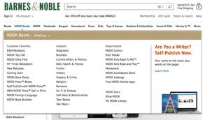 Barnes And Noble Self Publishing Nook Store U2013 A Guide To Deals Special Sections And Features