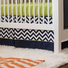 Chevron Boy Crib Bedding Blue And Green Crib Bedding Lesmurs Info