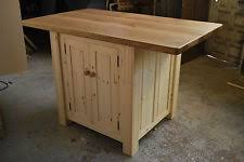 handmade kitchen islands handmade without assembly required kitchen islands carts ebay