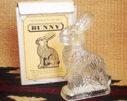 antique rabbit ring holder images Vintage bunny etsy jpg