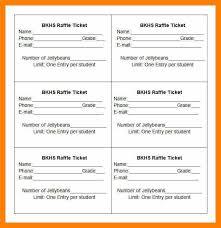 Raffle Sheet Template 6 Raffle Tickets Template Word Attendance Sheet