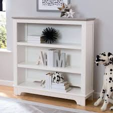 bookcase childrens white wooden bookshelf childrens white wall