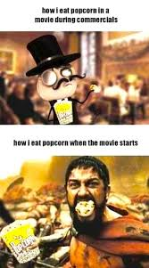 Meme Eating Popcorn - meme comic eating popcorn by cuppycake103 on deviantart
