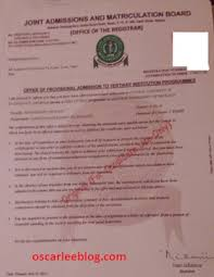 Ndu Attestation Letter important documents for futo freshers registration with photos