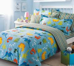 Dinosaur Bedroom Furniture by Just For Kids Blue Dinosaur Bedding Set Dinosaur Bedding