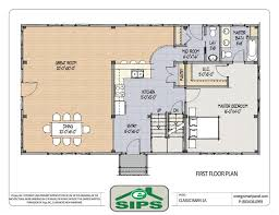 flooring barn house open floorlans example of concept home