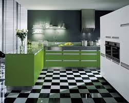 green color kitchen cabinets mrble table countertops black bronze