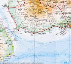 Geographical Map Yemen Gulf Of Aden Geographical Map Gizi Map U2013 Mapscompany