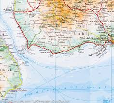 Map Of Yemen Yemen Gulf Of Aden Geographical Map Gizi Map U2013 Mapscompany